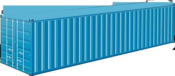 40' Container Dry Van